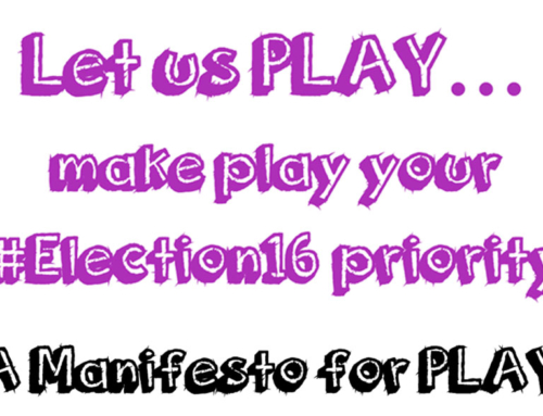 Let Us Play – A Manifesto For Play