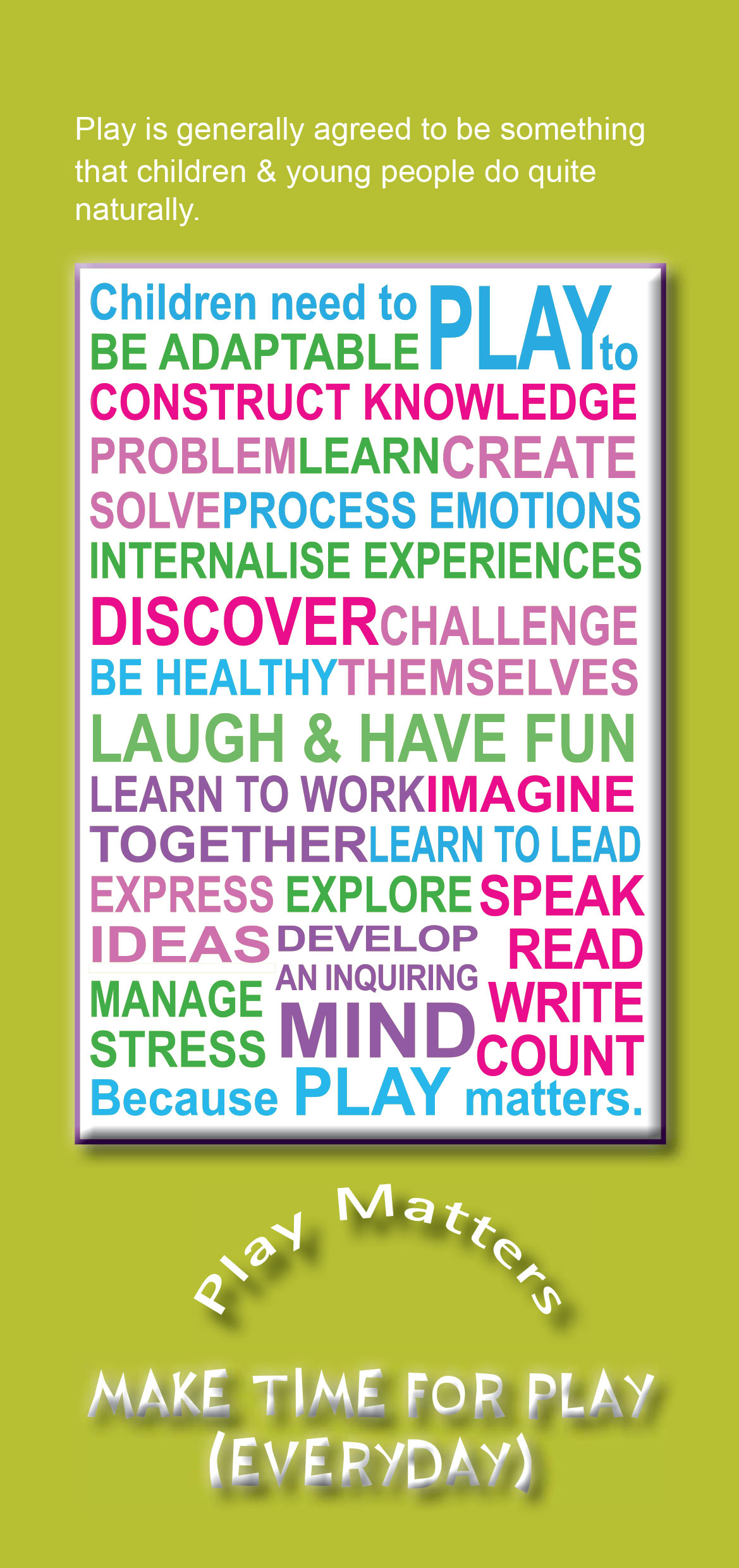 Play Matters Leaflet 3