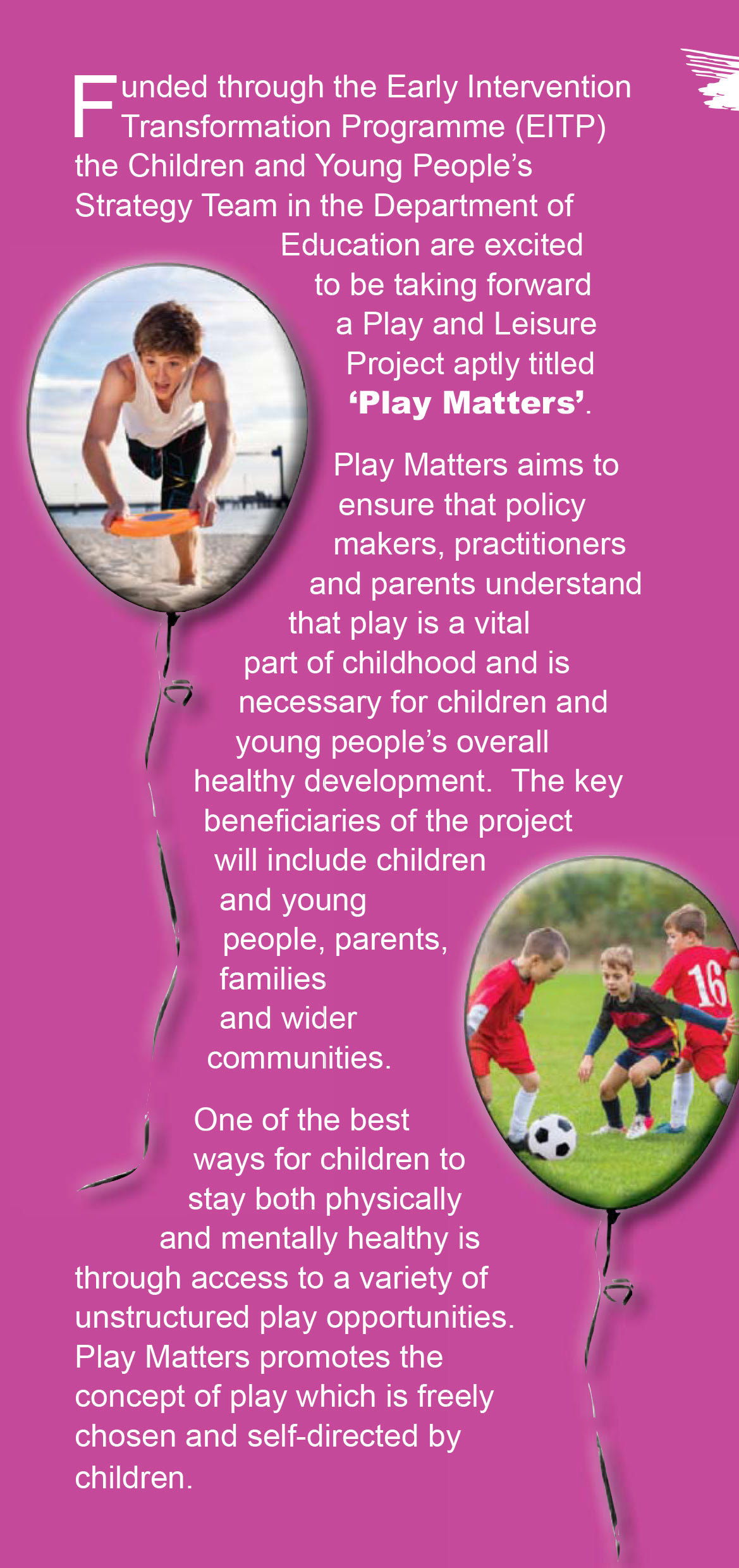 Play Matters Leaflet 4