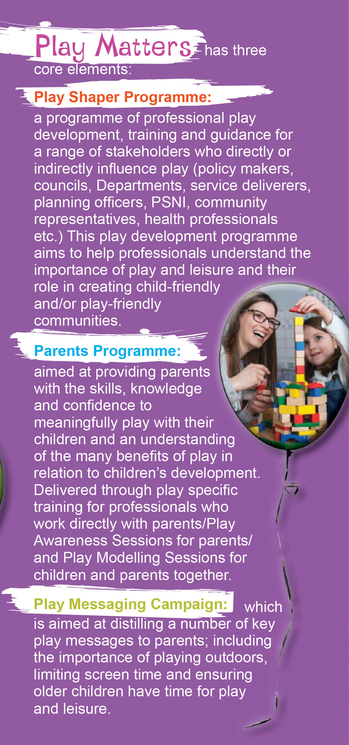Play Matters Leaflet 5