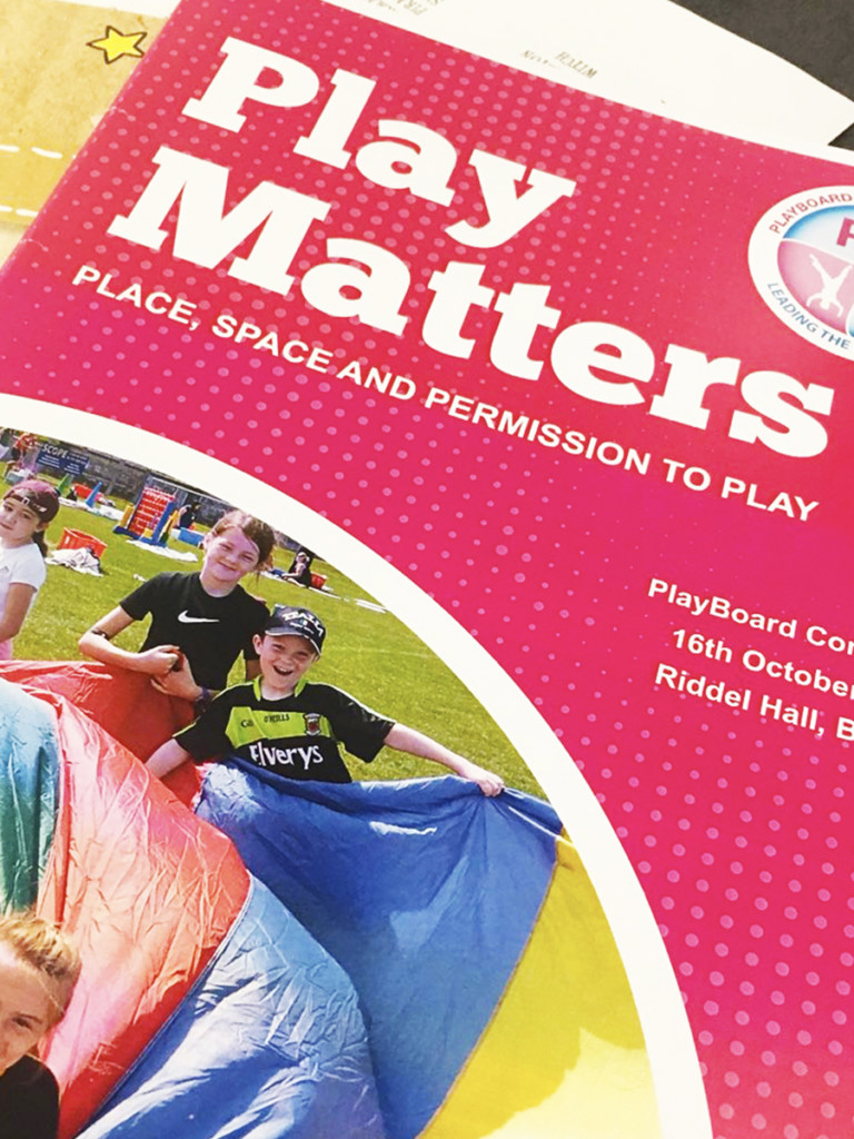 PlayBoard NI Conference 2018 - Play Matters Conference Pack