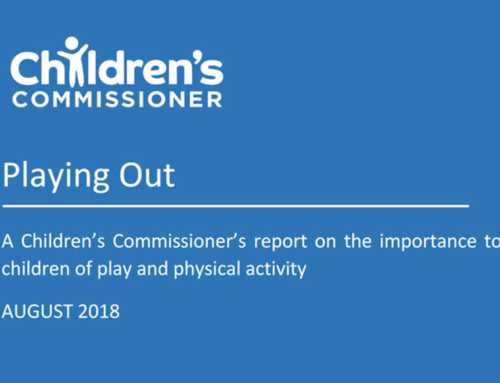 Playing Out – Children's Commissioner Report – August 2018