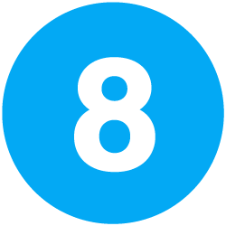 Number Icon 8