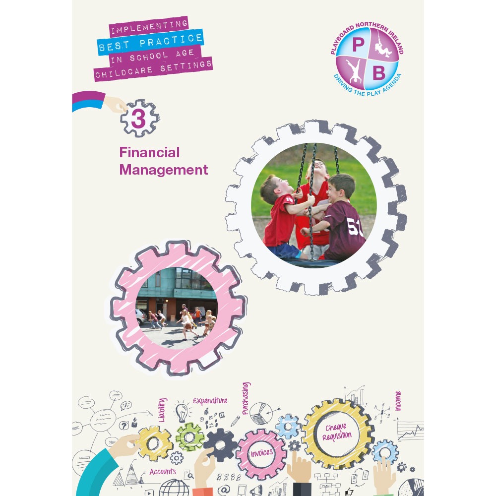 PlayBoard - Implementing Best Practice In School Age Childcare Settings Book 3 - Financial Management - Ebook