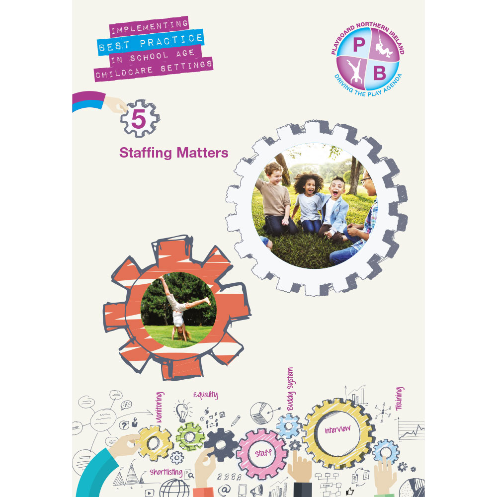 PlayBoard - Implementing Best Practice In School Age Childcare Settings Book 5 - Staffing Matters - Ebook