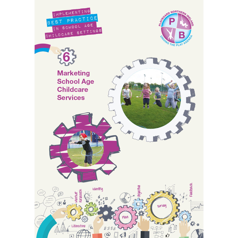 PlayBoard - Implementing Best Practice In School Age Childcare Settings Book 6 - Marketing Services - Ebook