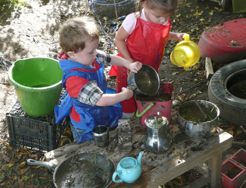Play Matters – Playing With Nature, Mud And Getting Dirty