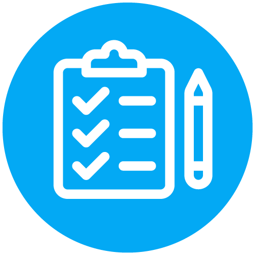 Research Policy Responding Icon