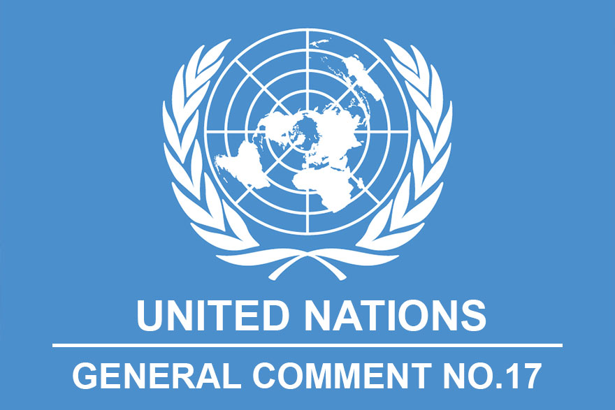 UN General Comment No 17 - Rights Of The Child