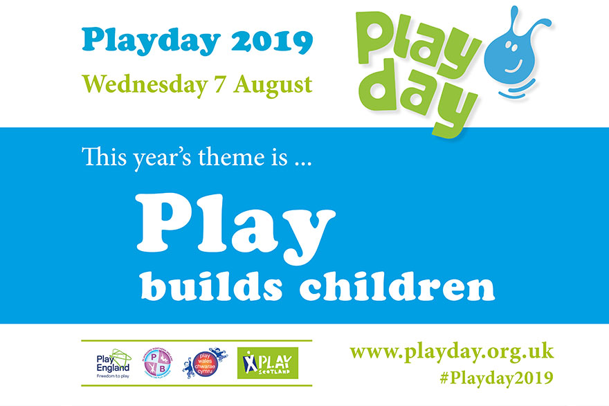 Playday 2019 To Focus On Play Builds Children