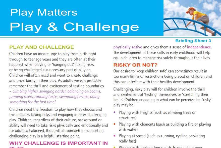 Play Matters - Play And Challenge