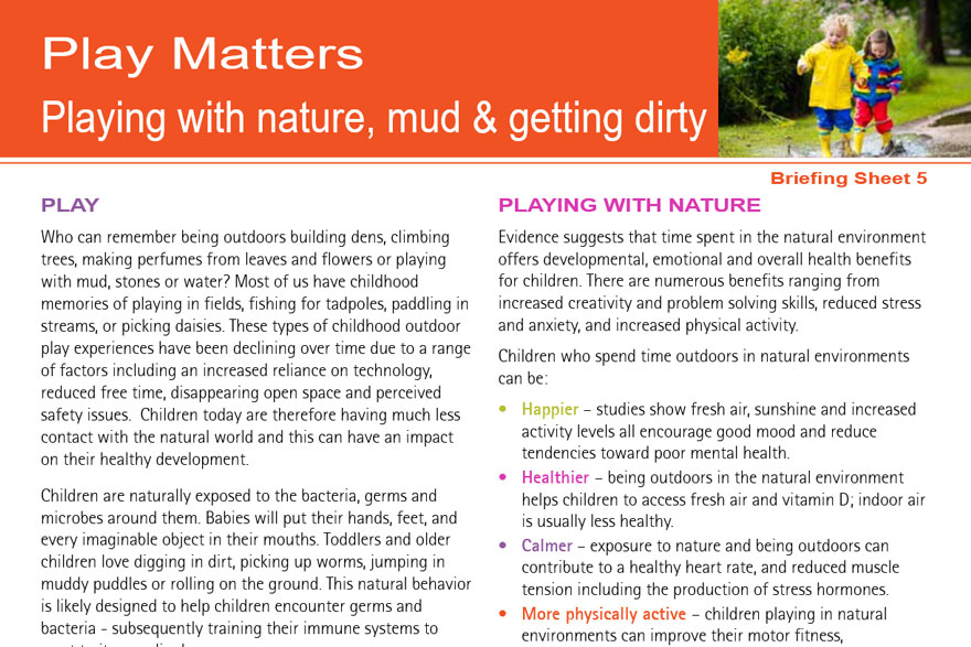 Play Matters - Playing With Nature