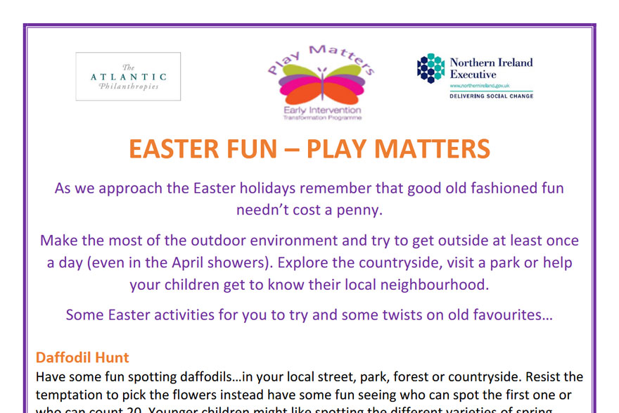 Play Matters - Easter Fun