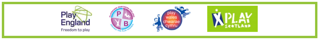 PlayBoard - Play England - Play Wales - Play Scotland