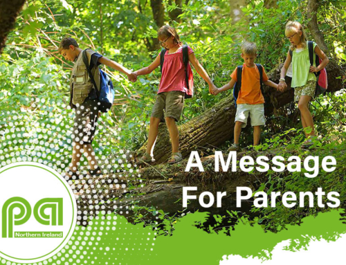 Message For Parents From IPA NI – Play Is The Way
