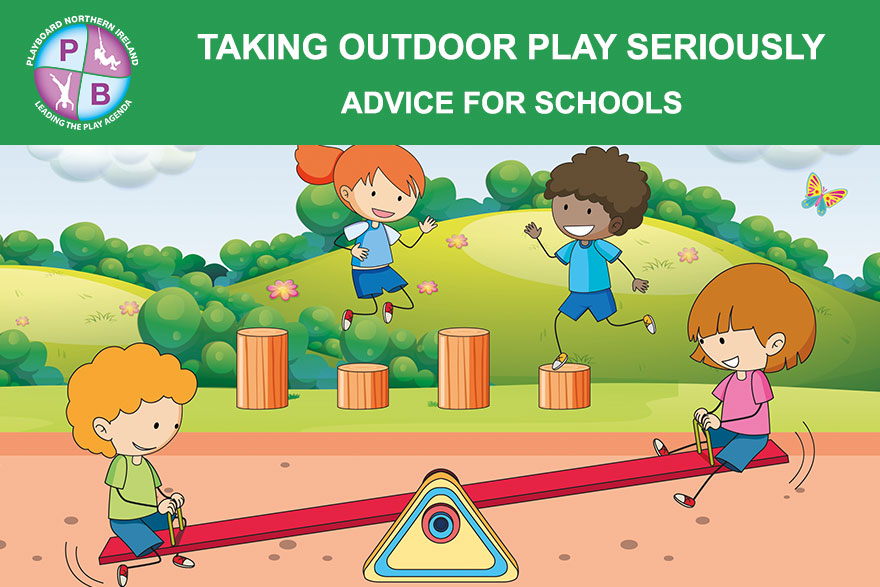 Taking Outdoor Play Seriously - New Materials For Schools