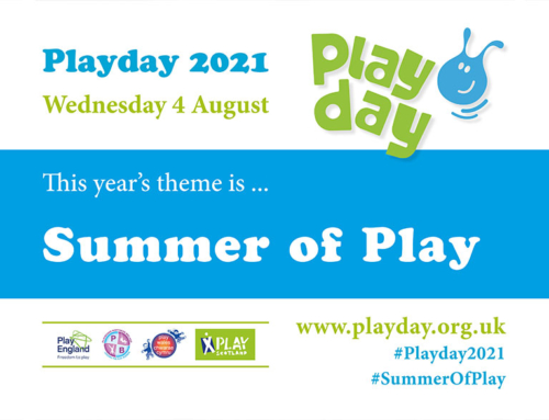 Playday 2021 Theme Announced